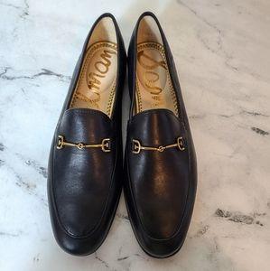 Sam Edelman Loraine Leather Black Saddle L…